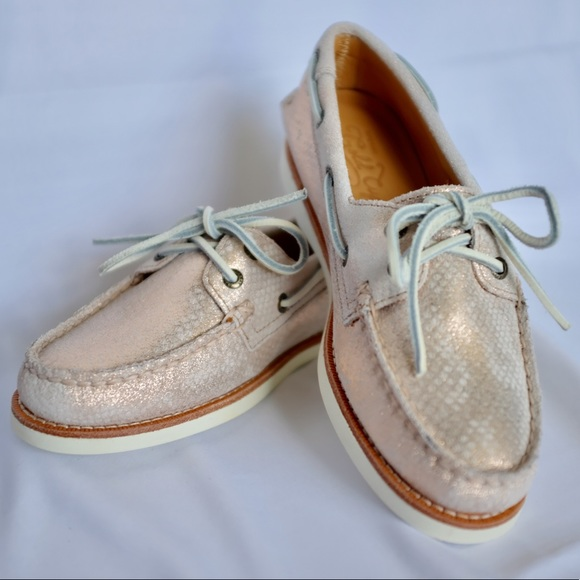 e509f88f7806 Sperry Gold Cup A O Rose Gold Boat Shoe